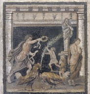Cock-fight between Personifications of Victory and Defeat
