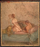 Fresco of Erotic Couple