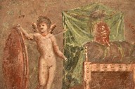 Cupids by the Thrones of Mars and Venus