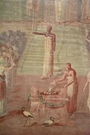 Fresco of the Worship of Isis