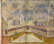 Two Frescoes Depicting Architecture