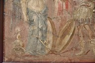 Fresco of Nike with Warrior