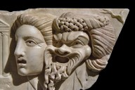 Relief of Theater Masks