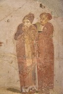 Fresco of a Theater Scene