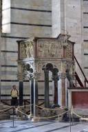 Pulpit, Pisa Baptistery