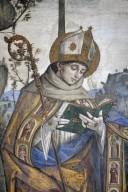 Bufalini Chapel: Transfiguration of Saint Bernardino of Siena
