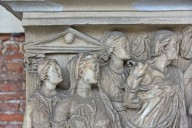 Sarcophagus with Scenes of Phaedra and Hippolytus