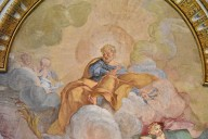 Miracle of the Chains [ceiling fresco]