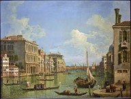 View of the Grand Canal looking toward the Punta della Dogana from Campo Sant'Ivo