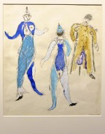 Costume design for Aleko: Two Fish and a Veteran (Scene IV)