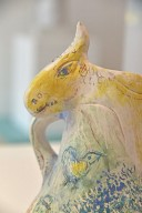 Blue Donkey [vase]