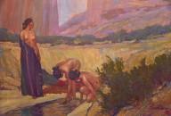 Navajo Women in the Canyon de Chelly, Arizona