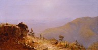 Study for the View from South Mountain in the Catskills