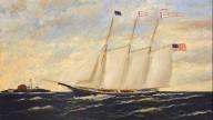 """Portrait of the Ship """"Commander"""""""