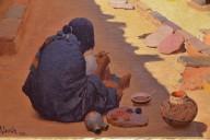 Zuni Pottery Maker