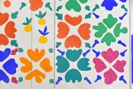 Flowers and Fruit [study for a tile mural]