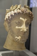 Male Head with Laurel Wreath