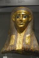 Painted Cartonnage Mummy Mask