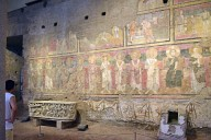 Santa Maria Antiqua, Left Aisle Frescoes