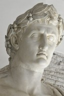 Emperor Augustus depicted as Jupiter Optimus Maximus