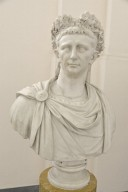 Bust of Emperor Claudius Wearing the Corona Civica