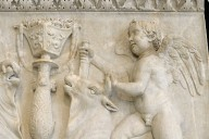 Relief with Cupids Sacrificing Bulls