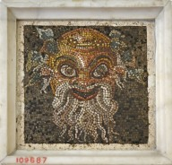 Theater Mask of the Character Papposilenus