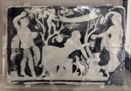 Cameo Glass Panels with the Initiation of Ariadne