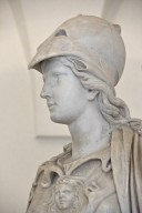 Statue of Athena with a Snake