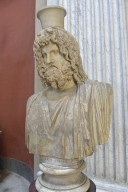Bust of Serapis