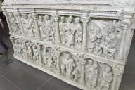 Sarcophagus of Junius Bassus [plaster cast]