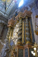 Cappella Lancelotti, Apotheosis of the Blessed Aloysius Gonzaga (and Altar)