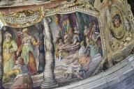San Pietro in Vincoli, Tribune (Apse) Frescoes