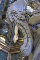 Cappella Lancelotti, Angels Flanking Altar
