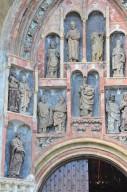 Saint Mark's Church, South Portal Sculptures
