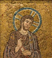 Christ (Entry into Jerusalem) [mosaic fragment]