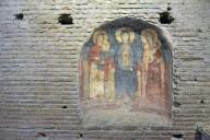 Santa Maria Antiqua, Niche with St. Anne, the Virgin, St. Elizabeth and Their Infants