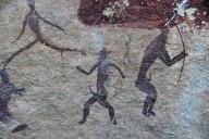San Rock Art, Marching Men of iKhanti