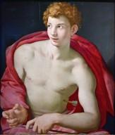 Portrait of a Young Man as Saint Sebastian