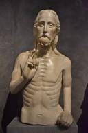Florence Baptistery Façade Sculpture, Christ Blessing [half figure]