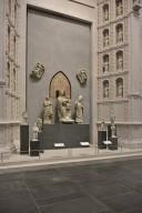 Duomo Façade Sculpture, Madonna and Child Enthroned between Saints Reparata and Zenobius