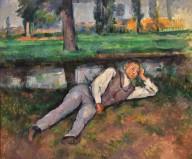 Boy Resting