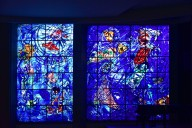 Chagall Museum Auditorium, Stained Glass Windows
