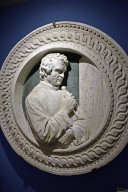 Circular Relief Portrait of Arnolfo di Cambio [copy]