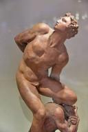 Honour Triumphant over Falsehood [terracotta study]