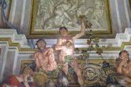 Villa Borghese, Room of Silenus Ceiling