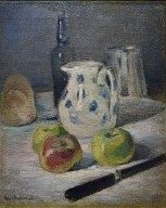 Still Life with Pitcher and Black Knife