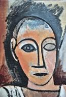 Bust of a Man (study for Les Demoiselles d'Avignon)