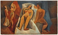 Reclining Nude with Figures