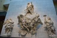 Baptistery Altar, Saint John in Glory and Candle-bearing Angels